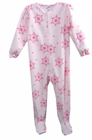 Girls Footed Pajamas - Pink Floral sz 4  available