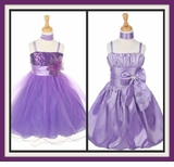 Girls Purple or Lavender Dresses
