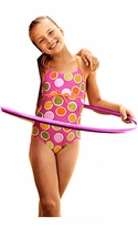 Girls Dot Swimsuit   sz 16  CLEARANCE FINAL SALE