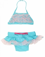 Rufflebutts Ocean Blue Toddler Bikini- sold out