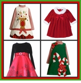 Toddler & Girls Christmas Clothes & Dresses