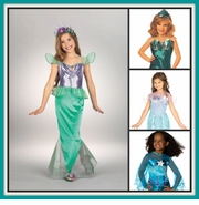Mermaid, Fairy and Gypsy