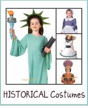 HISTORICAL COSTUMES - THANKSGIVING COSTUMES