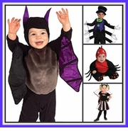 SPIDER AND BAT COSTUMES