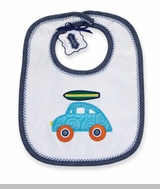 Mud Pie- Reversable Surfboard Car Bib