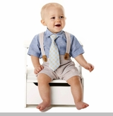 Mud Pie - Boys Suit - Seersucker 3 Piece Set - sold out