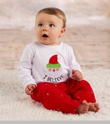 Little Boys Christmas Outfit  -  I Believe in Santa - sold out