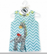 Mud Pie Boys CLEARANCE Safari Giraffe Shortall sold out