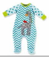 Mud Pie Boys SALE! Safari Giraffe Sleeper SOLD OUT