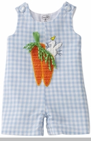 Infant Boys Easter Outfit - Boys Carrot Shortalls