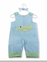 Boys Summer Gator Longall - Seersucker SOLD OUT