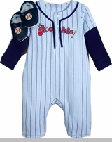 Vitamins Baby Clothes - Baby Baseball Clothes - Rookie Coverall SOLD OUT
