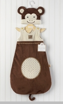 """My Little Monkey"" Snuggle Sack and Cap Newborn Coat"
