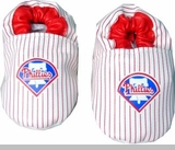 Philadelphia Phillies Baby Shoes  - Leather NEW!
