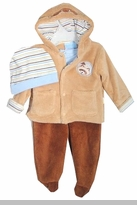 Baby Boys Jacket Set 3 Pc  - NEW
