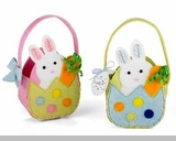 Baby or Toddler Easter Baskets - Choose Pink or Blue