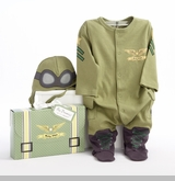 "Baby Pilot Two-Piece Layette Set  -  ""Big Dreamzzz""  out of stock"
