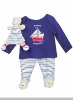 Vitamins Baby Nautical Dream Boat Sleeper  FINAL SALE