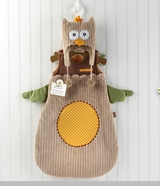 "Snuggle Sack & Cap - ""My Little Night Owl"""