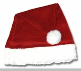 Childs Santa Hat - Le Top Rich Red Velour