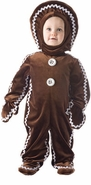 Christmas Costumes for Infants or Toddlers - Gingerbread Man sold out
