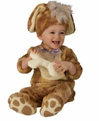 Puppy Costume and Stuffed Rattle
