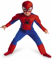 Toddler or Boys SpiderMan Costume   - Muscle  - sold out