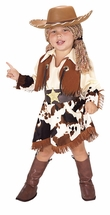 Kids Halloween Costumes - Cowgirl Costume With Hat