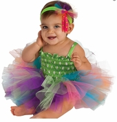 Baby Ballerina Costume and Dress - Rainbow Tutu