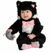 Inky Black Kitty Costume Baby - Infant