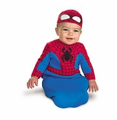 Baby Spiderman Costume - Bunting  SOLD OUT