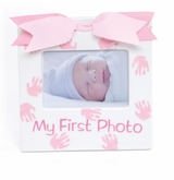 Mud Pie- Baby Girl's 1st Photo Ceramic Frame