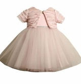 Bonnie Jean - Pink Ballerina Dress with Jacket