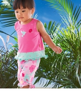 LE TOP BABY Capri Set - 3 month last one FINAL SALE