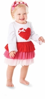 Mud Pie Valentine's Day Heart Dress Newborn to 5T  IN STOCK!