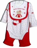 Vitamins Baby - Santa's Little Angel  - 9 month 4 Pc set  LAST ONE