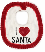 I Love Santa Bib - sold out