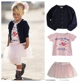 Salon Couture Little Girls Cardigan, Pettiskirt and Tee Set  Coming Soon