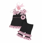 Mud Pie Perfectly Princess Capri Black