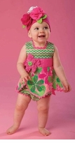 Mud Pie Petal Top and Bloomer Set - sold out