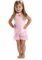 Pretty in Pink Ruffled Short Set -  SALE