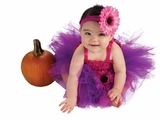Newborn Baby Girls Tutu Dress Purple/Pink