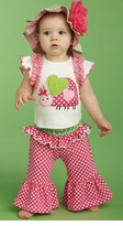 Infant or Toddler Ladybug Yoga Pants Set - sold out