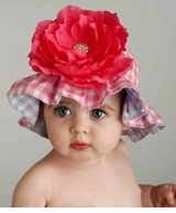 Infant or Toddler Girls Sunhat -   sold out