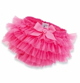Hot Pink Chiffon Bloomer