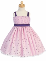 FINAL SALE  LITO DRESSES Girl's Lavender Tulle Dress