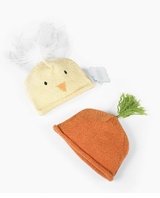 Baby Easter Hats - Choose Carrot or Chick Hat  SOLD OUT