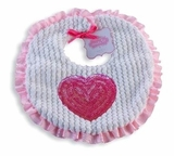 Valentine's Heart Bib  sold out