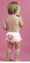 Mud Pie Newborn or Infant Valentine's Day Heart Bloomer -  sold out