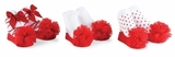 Red Socks - Infant Holiday Sock Set for Girls